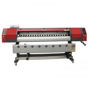 1800mm 5113 رأس مزدوج الرقمية آلة الطباعة النسيج النافثة للحبر طابعة لبانر WER-EW1902