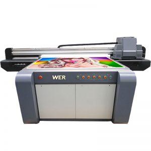 3D طابعة مسطحة الأشعة فوق البنفسجية تأثير ، طابعة سيراميك ، آلة الطباعة البلاط في الصين WER-EF1310UV
