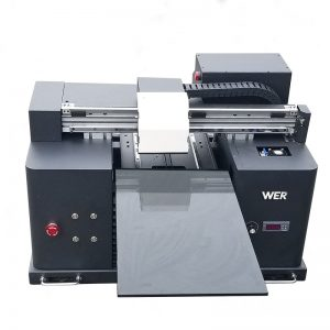 A4 حجم الرقمية DTG طابعة تي شيرت طابعة آلة الطباعة للمبيعات WER-E1080T