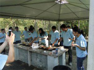 BBQ في Gucun Park ، خريف 2014