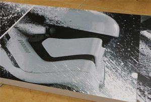 لوحة مطبوعة من قبل WER-G2513UV طابعة UV كبيرة التنسيق