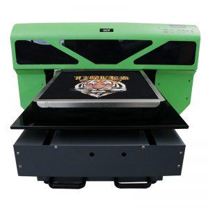 الصين الصانع الصغيرة تي شيرت آلة الطباعة مباشرة إلى طابعة الملابس dtg a2 a3 WER-D4880T