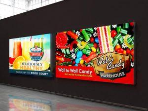 حل طباعة الإعلانات الداخلية والخارجية وقفة واحدة
