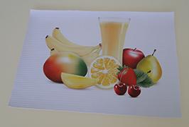 شعار بولي كلوريد الفينيل مطبوعة بواسطة 3.2m (10 أقدام) طابعة المذيبات البيئية WER-ES3201