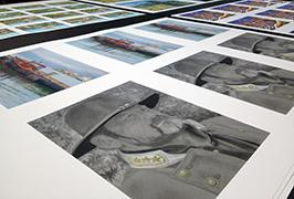 صور ورقة مطبوعة بواسطة 1.8M (6 أقدام) طابعة المذيبات الايكولوجية WER-ES1802 2