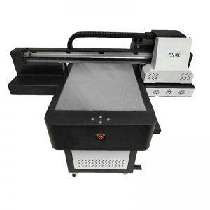 صغيرة الحجم عالية الجودة حالة الهاتف المسطحة طابعة UV WER-ED6090UV
