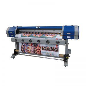 التسامي الحقن المباشر طابعة 5113 رأس الطباعة الرقمية نسيج القطن آلة الطباعة WER-EW160