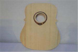 عينة الغيتار الخشب من A2 حجم طابعة UV WER-DD4290UV