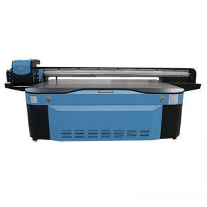 الرقمية سعر آلة طباعة راية المرن / الأشعة فوق البنفسجية طابعة مسطحة WER-G2513UV