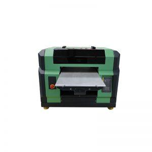 سعر جيد ل a3 a4 مسطحة WER-E2000UV uv led الطابعة مع رئيس dx5 8 ألوان