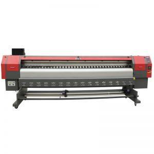 طابعة عالية السرعة 3.2 م المذيبات ، الرقمية آلة طباعة راية فليكس السعر WER-ES3202