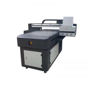 طابعة طابعة PVC طابعة نافثة للحبر الرقمي للبلاستيك WER-ED6090UV
