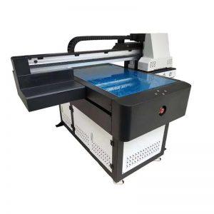 الورنيش WER-ED6090 طابعة مسطحة UV لبلاط السيراميك / حالة الهاتف 6 ألوان